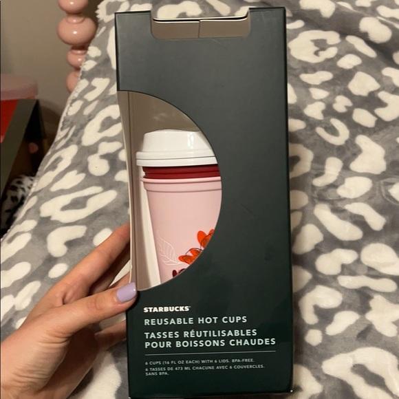 Starbucks 2021 valentines collection hot cups NIB
